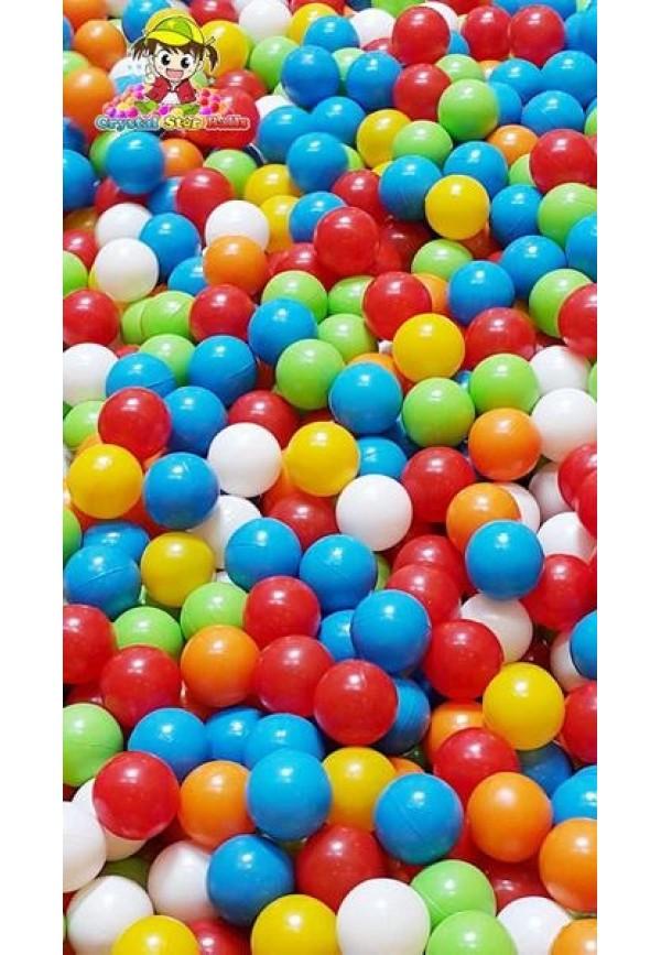 Bola Mandi Plastik Anak 100pcs