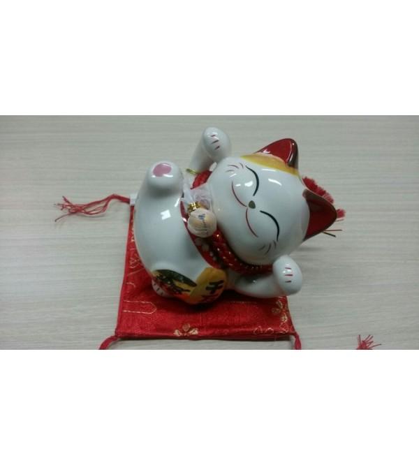 Lucky Cat / Maneki Neko / Kucing keberuntungan Versi 1